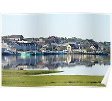 Yarmouth Harbourfront in June Poster