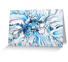 Sub-Atomic Stress Release Therapy - Watercolor Painting Greeting Card