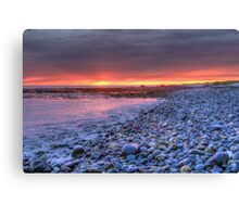 Churn Sunset (HDR) Canvas Print