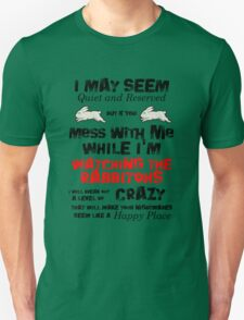 Rabbitohs Crazy T-Shirt