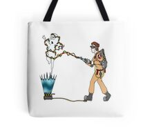 Casper meets The Ghostbusters Tote Bag