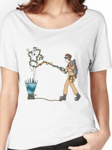 Casper meets The Ghostbusters Women's Relaxed Fit T-Shirt