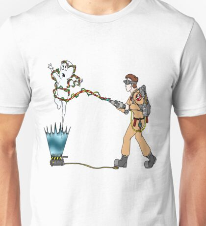 Casper meets The Ghostbusters Unisex T-Shirt