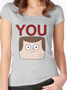 A Jeff is You Women's Fitted Scoop T-Shirt