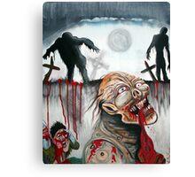 Zombie Moon Canvas Print