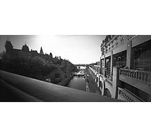 "The ""Colonel By"" Canal Locks in Ottawa Photographic Print"