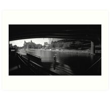 "Pinhole Study of the ""Colonel By"" Canal Art Print"