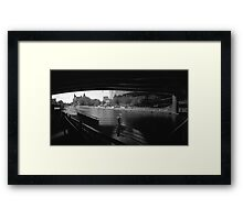 """Pinhole Study of the """"Colonel By"""" Canal Framed Print"""