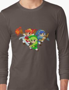 Triforce Heroes Long Sleeve T-Shirt