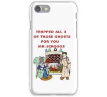 Ghostbusters Christmas Carol iPhone Case/Skin