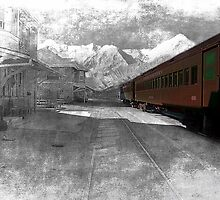 Ely, Nevada, trainstation by Gunter Nezhoda
