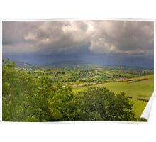 County Down Countryside Poster