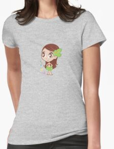 MELE-PRINCESS OF THE JUNGLE Womens Fitted T-Shirt