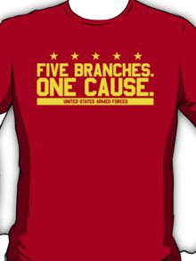 Five Branches: Marines T-Shirt