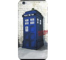 Dalek Gettin' Up iPhone Case/Skin