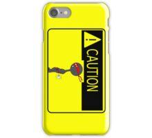 Ninja Caution iPhone Case/Skin