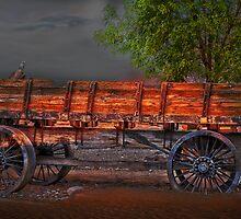 Wagons East by Gunter Nezhoda
