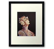 nude portrait Framed Print