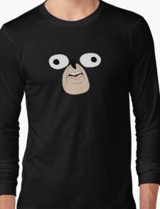 Sonic The Hedgehog: Derp Face Long Sleeve T-Shirt