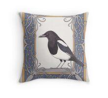 Corvus 2 Throw Pillow