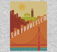 Sunny San Francisco One Piece - Long Sleeve