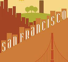 Sunny San Francisco by janna barrett