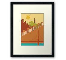 Sunny San Francisco Framed Print