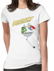 Mighty Minions Womens Fitted T-Shirt