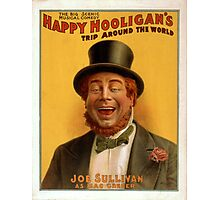 Vintage poster - Musical comedy Photographic Print