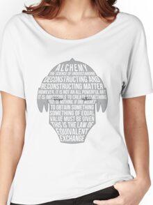 Fullmetal Alchemist: Typography Women's Relaxed Fit T-Shirt