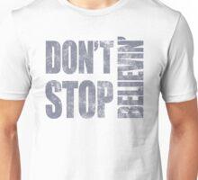 80's Journey Don't Stop Believin' Unisex T-Shirt