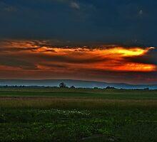 Sunset over Battlefield by Studio601