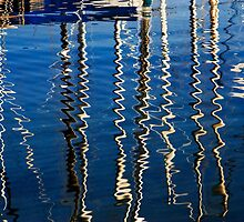 Marina Abstract by Alex Preiss
