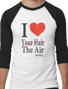 Dr. Horrible Freeze Ray love your hair Men's Baseball ¾ T-Shirt