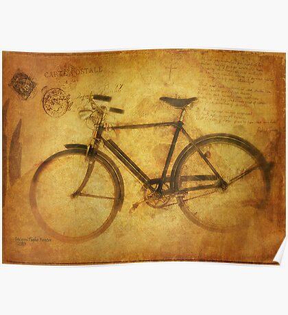 Robert's Bicycle Poster