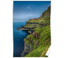 Northern Irish Coast Poster