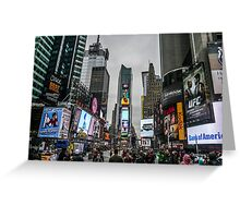 Times Square, NYC Greeting Card