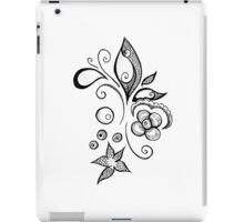 Abstract Sea Leaves iPad Case/Skin