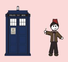 Dr Who (11) car sticker family (also on shirts) Kids Clothes