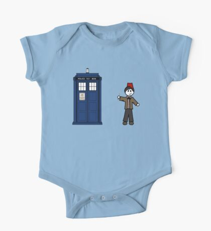 Dr Who (11) car sticker family (also on shirts) One Piece - Short Sleeve