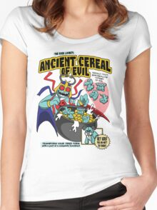 Ancient Cereals of Evil Women's Fitted Scoop T-Shirt