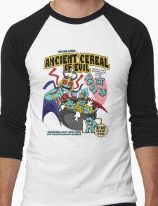 Ancient Cereals of Evil Men's Baseball ¾ T-Shirt