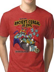 Ancient Cereals of Evil Tri-blend T-Shirt