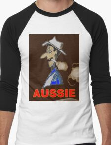 AUSSIE CHARACTOR Men's Baseball ¾ T-Shirt