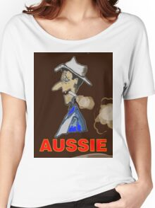 AUSSIE CHARACTOR Women's Relaxed Fit T-Shirt