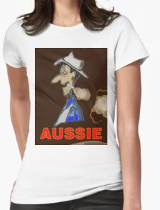 AUSSIE CHARACTOR Womens Fitted T-Shirt