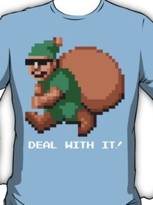 Deal With It! Green Elf v2 T-Shirt