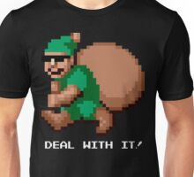 Deal With It! Green Elf v2 Unisex T-Shirt