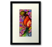 One Red Rose... or Flamingo Dancer? Framed Print