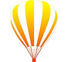 sunrise air balloon Photographic Print